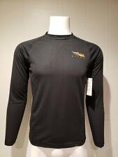 NWT Men's Sitka Core Light Weight Crew Long Sleeve Shirt Black 10033 Size S