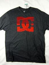 DC Shoes skate premium logo soft t shirt men's charcoal heather size MEDIUM