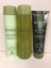Alterna Bamboo Shine Shampoo and Conditioner 8.5 oz / Brilliance Cream 4.2 oz