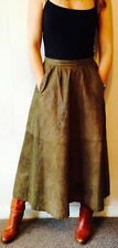 Leather 1970s Vintage Skirts for Women