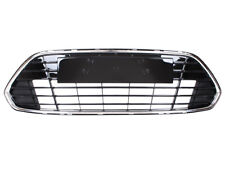 FORD MONDEO MKIV 4 FACELIFT FRONT LOWER CENTRE BUMPER GRILLE BLACK/CHROME PANEL