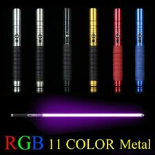 RGB 11 Colours Metal Laser Luminous Outdoor Toy Creative Stick Saber New