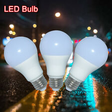 5pcs LED E27 Energy Saving White A60 Light Bulb SMD Lamp 9W Lamp 110V-240V