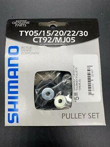 SHIMANO Rear Derailleur Pulley Jockey Wheel Set TY05/15/20/22/30 CT92/MJ05 New