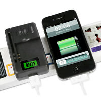 Mobile Universal Battery Charger LCD Indicator Screen For Cell Phones USB Port