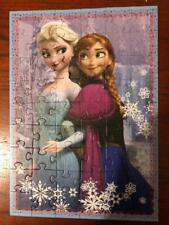4x Unboxed Disney Frozen Anna Elsa Kristoff Puzzles L@@K
