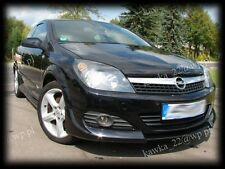 Vauxhall Opel Astra H GTC 3-door Hatchback Front Bumper Extension Spoiler