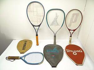 Prince Ektelon Skill Builders 25 Spalding Pro Kennex Racquetball Squash Rackets