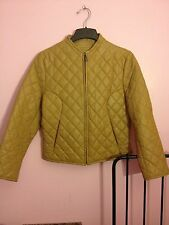 Quilted Leather Jacket Size Large