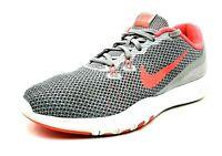 Nike Training Flex TR 7 Womens Size 8.5 Gray Orange Running Cross Training Shoes