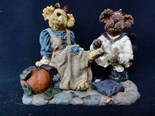"Boyds Bears Cindyrella & Prince "" If The Shoe Fits "" - In Original Box"