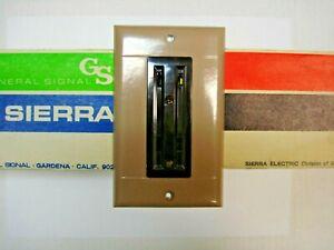 Sierraplex Biplex Triplex Vintage Switch Outlet Wall Cover Plate 1 Gang Sierra