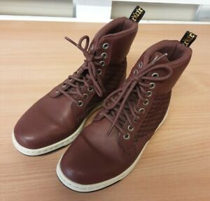 Dr Martens Women Burgundy Boots SoftWair Soles size - 3