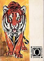 Tierpark Berlin, ein Wegweiser, 9. Ausgabe 1965, 10 Jahre 1955 - 1965 DDR