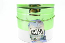 Bath & Body Works 14.5oz Fresh Balsam 3 wick Scented Candle NEW Ceramic Tumbler