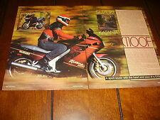 1988 SUZUKI GSX1100F KATANA ***ORIGINAL ARTICLE / SPECIFICATIONS***