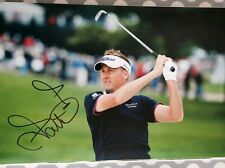 ian poulter signed 12x8 golf open pro golfer