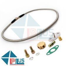 T3 T4 T3T4 T70 T66 TO4E Turbo Turbocharger Universal Oil Line Oil Feed Line Kit