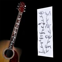 1x  Tree Of Life Guitar Or Bass Fretboard Inlay Sticker Silver Color J&C