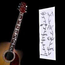 Tree Of Life Guitar Or Bass Fretboard Inlay Sticker Silver Colo