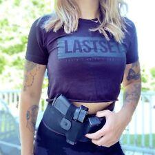 Women Man Belly Band Holster Concealed Hand Gun Carry Pistol Waist Hidden Belt L