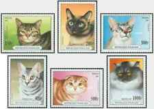 Timbres Chats Togo 1556/61 ** lot 27280
