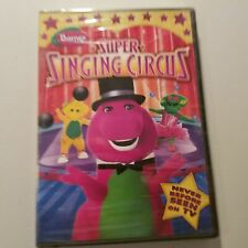 Barney Super Singing Circus DVD with Bonus Features