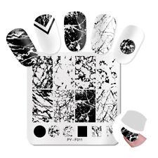 PICT You Nail Stamping Plates Marble Stencil Nail Art Image Printing Templates