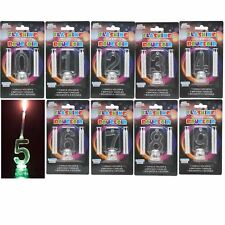 0 - 9 Number Birthday Candle Flashing Colour Changing  Cake Decoration 4 Candles