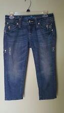 Sang Real SJP7038CR Dark 04 Jeans size 27 true measurements 30 X 20 1/2