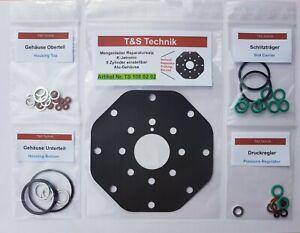 Mengenteiler Reparatursatz / Dichtsatz K-Jetronic 8 Zyl. Aluminium einstellbar