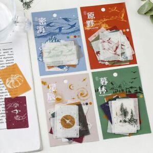 Decorative Nature, Natural World Journal, Craft Stickers set