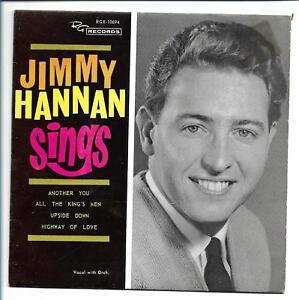 """(JIMMY HANNAN Sings)-P/S- PROMO WHITE LABEL -A9-7"""""""