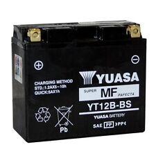 YUASA MOTORRAD-BATTERIE YT12B-BS YT 12B-BS NEU !!!
