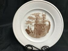 """Wedgwood 1941 Old London View Collector Plate ~  """"WESTMINSTER ABBY"""" ~ 10 1/2"""""""