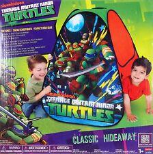 Nickelodeon Teenage Mutant Ninja Turtles Classic Hideaway PlayTent EZ Setup NEW