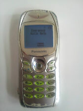Panasonic GD75 - Silver (Unlocked) Mobile Phone Rare Collectable Vintage