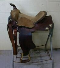 "EASY RIDER - Western Pleasure/Trail SHOW Saddle - 14"" - Suede Seat - NO RESERVE"
