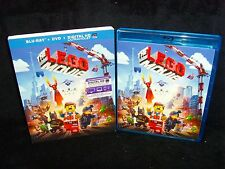 The Lego Movie (2014 Blu-ray/DVD/Digital 2-Disc) Mint Disc/Sleeve/Insert