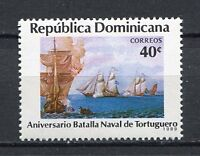 27960). DOMINICANA REP. 1989 MNH** Nuovi** Battle of Tortuga
