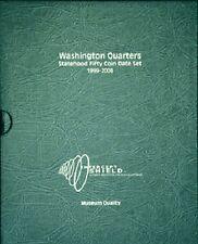 Intercept Shield USA Coin Album 50 State Quarters Date Set 1999-2008 + Slipcase