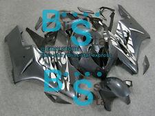Pattern Silver INJECTION Fairing Kit Fit Honda CBR1000RR 2004-2005 47 A6