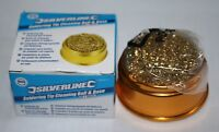 SILVERLINE 281271  Soldering Tip Cleaning Ball & Base NEW ITEM