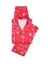 Victoria's Secret Afterhours Satin Pajama Set Iconic Stripe pink Pajama XS S M L