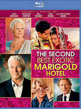 SECOND BEST EXOTIC MARIGOLD HOTEL (Blu-ray, 2015) NEW