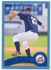 Cody Scarpetta Brevard County Manatees 2011 Topps Pro Debut Blue Card 103/309