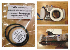 O-ring & Silicone Grease Kit for Panasonic DMW-MCFX30 Underwater Housing Case