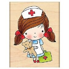 PENNY BLACK RUBBER STAMPS FIRST AID MIMI NEW STAMP 2013
