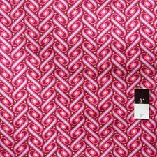 Joel Dewberry JD57 Heirloom Ribbon Lattice Fuchsia Cotton Fabric By Yd