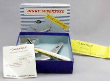 DINKY TOYS 1 / 43 ème CARAVELLE en boite / jouet ancien